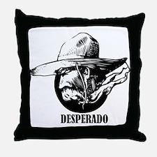 Desperado Throw Pillow
