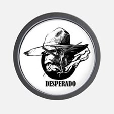 Desperado Wall Clock