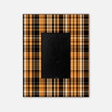 Halloween Plaid Picture Frame