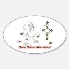 Dane Revolution Oval Decal