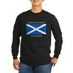Newton Mearns Scotland Long Sleeve Dark T-Shirt