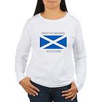 Newton Mearns Scotland Women's Long Sleeve T-Shirt