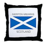 Newton Mearns Scotland Throw Pillow