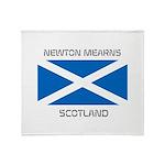 Newton Mearns Scotland Throw Blanket