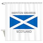 Newton Mearns Scotland Shower Curtain