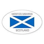 Newton Mearns Scotland Sticker (Oval)