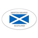 Newton Mearns Scotland Sticker (Oval 10 pk)