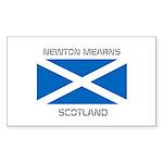 Newton Mearns Scotland Sticker (Rectangle 50 pk)