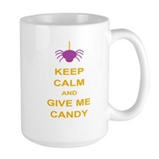 Keep Calm Candy Mugs