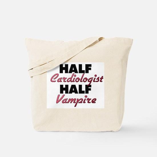 Half Cardiologist Half Vampire Tote Bag