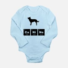 Australian Kelpie Long Sleeve Infant Bodysuit