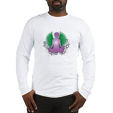 Namaste Yoga Design Long Sleeve T-Shirt