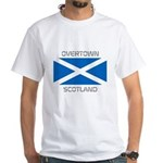 Overtown Scotland White T-Shirt