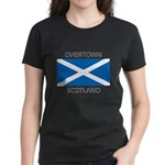 Overtown Scotland Women's Dark T-Shirt