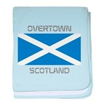 Overtown Scotland baby blanket