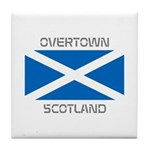 Overtown Scotland Tile Coaster