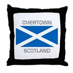 Overtown Scotland Throw Pillow