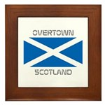 Overtown Scotland Framed Tile