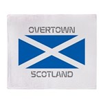 Overtown Scotland Throw Blanket