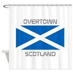 Overtown Scotland Shower Curtain