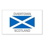 Overtown Scotland Sticker (Rectangle 10 pk)