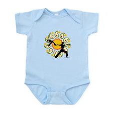 Asanas Yoga Design Infant Bodysuit