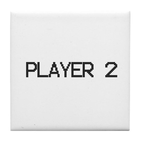 PLAYER 2 Tile Coaster