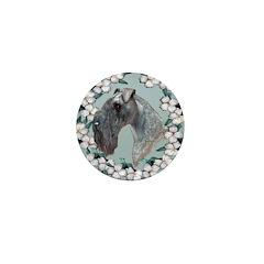 Kerry Blue Terrier Mini Button