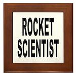 Rocket Scientist Framed Tile