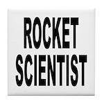 Rocket Scientist Tile Coaster