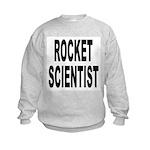 Rocket Scientist (Front) Kids Sweatshirt