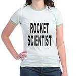 Rocket Scientist (Front) Jr. Ringer T-Shirt