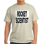 Rocket Scientist (Front) Ash Grey T-Shirt