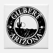 Gilbert, AZ Tile Coaster