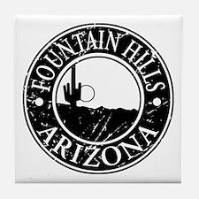 Fountain Hills, AZ Tile Coaster