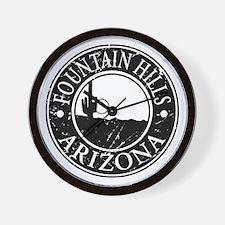 Fountain Hills, AZ Wall Clock