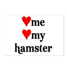 LOVE ME LOVE MY HAMSTER Postcards (Package of 8)
