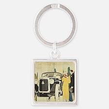Art Deco Rendevous Keychains