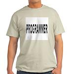 Programmer (Front) Ash Grey T-Shirt