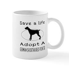 Adopt A German Shorthaired Pointer Dog Small Mug