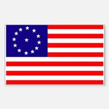 Battle of Cowpens Rectangle Decal