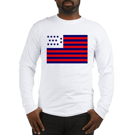 Guilford Courthouse Flag Long Sleeve T-Shirt