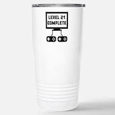 Level 21 Complete 21st Birthday Mugs