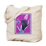 Black Chinese Pug Tote Bag
