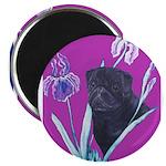 Black Chinese Pug Magnet