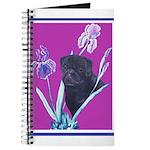 Black Chinese Pug Journal