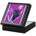 Black Chinese Pug Keepsake Box