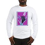 Black Chinese Pug Long Sleeve T-Shirt