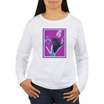 Black Chinese Pug Women's Long Sleeve T-Shirt