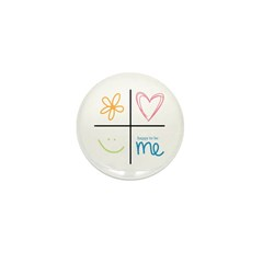 Happy to be me Mini Button (10 pack)